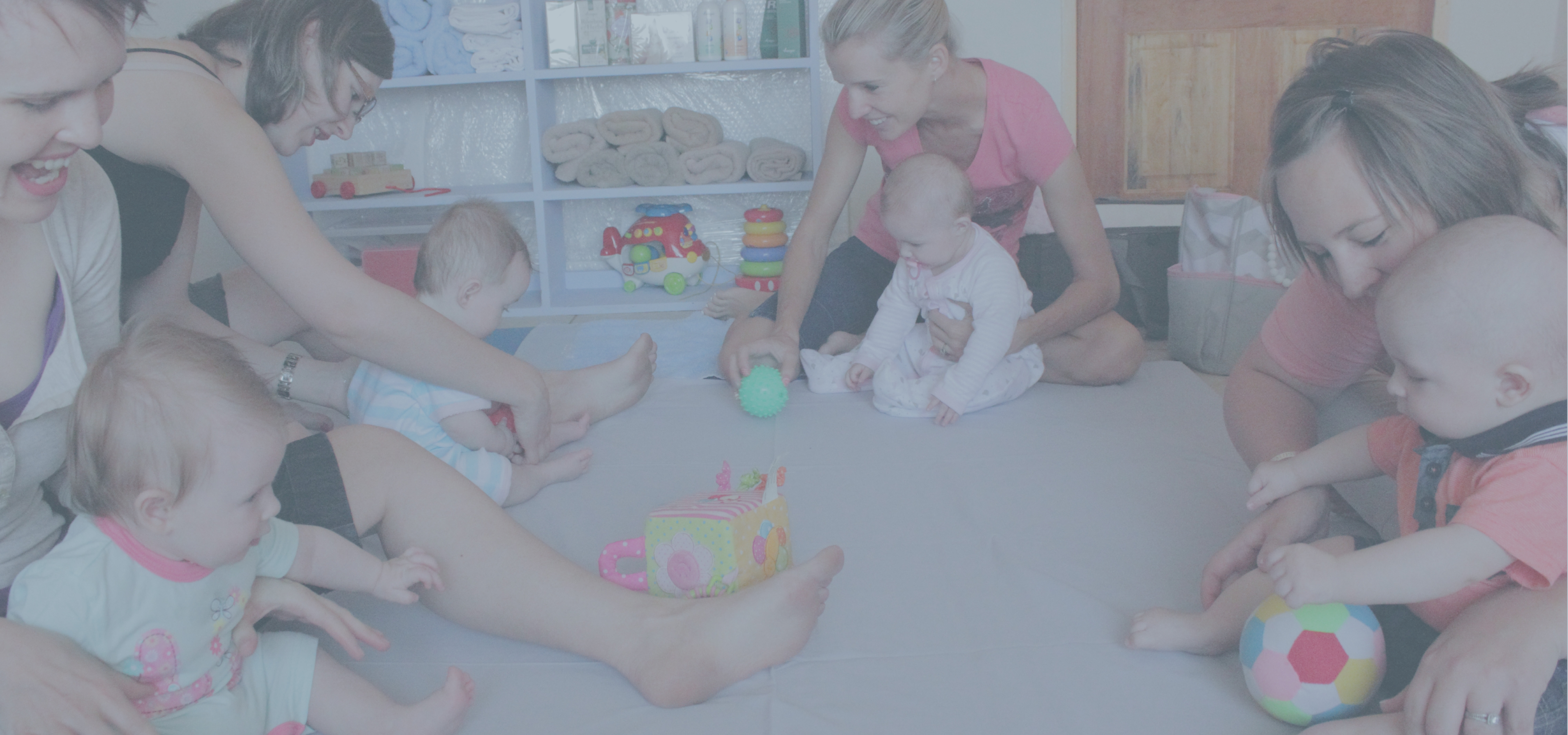 Welcome to babygym where we playfully develop your baby to